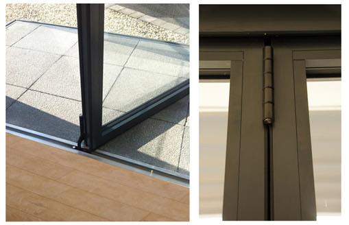 Folding Door Suppliers : Bi fold doors folding door manufacturers
