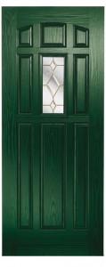 Emerald Green Kara Brass