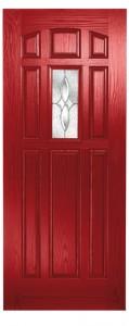 Emerald Red Scotia Clear Zinc