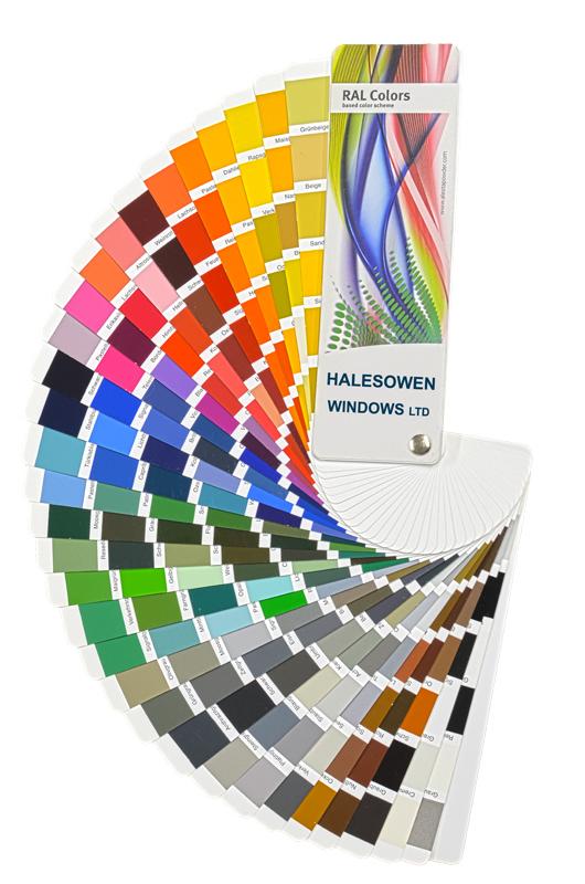 Halesowen Windows RAL Colours 90 800
