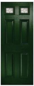 Quartz 2 Green Scotia Clear Brass