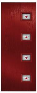 Saturn 4 Right Red  Marmara Red