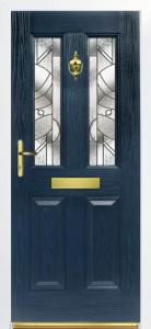 london-blue-absract